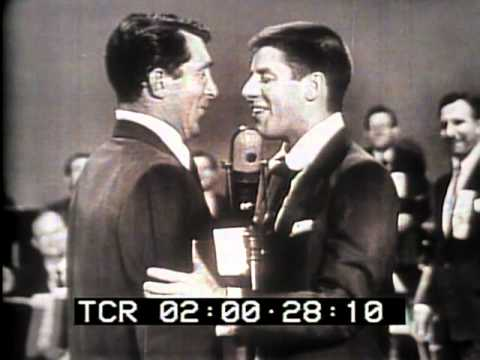 Dean Martin Jerry Lewis on Bob Hope Bing Crosby US Olympic team telethon 22 June 1952