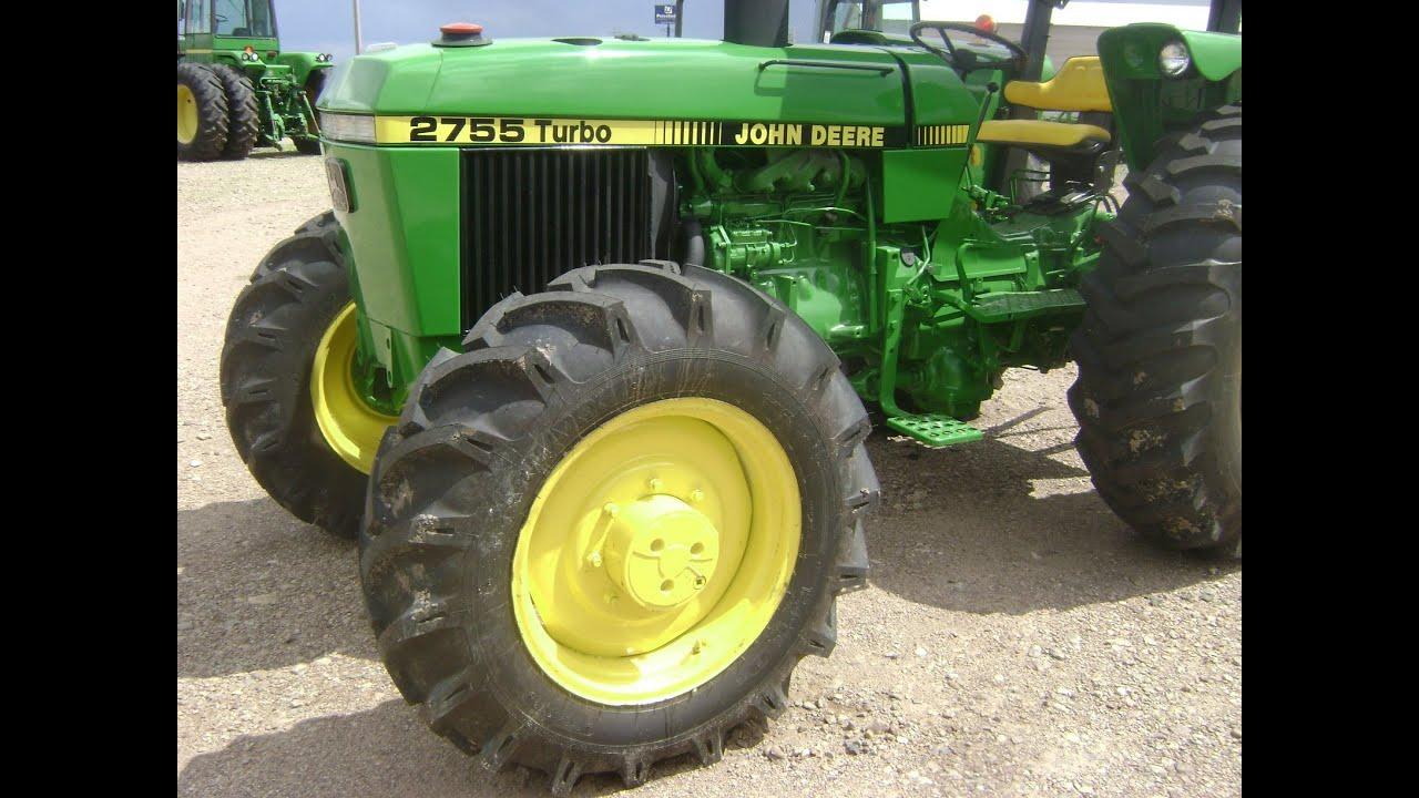 Mov00579 Tractor John Deere 2755 4x4 Turbo Sincron  19 000 Dlls