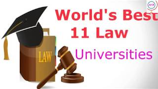 Best Law University  In the World II Top 11 Law College
