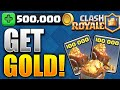How To Get GOLD FAST & EASY! (Clash Royale Gold Tutorial) Bes...