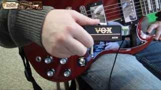Vox amPlug Review - The Vox AC30 Guitar Headphone Mini Amp Features