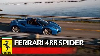 Ferrari 488 Spider - Official video / Video ufficiale