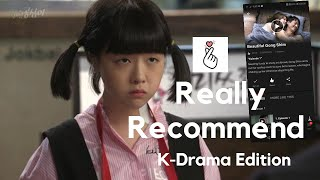 Really Recommend: K-Drama Edition: Beautiful Gong Shim