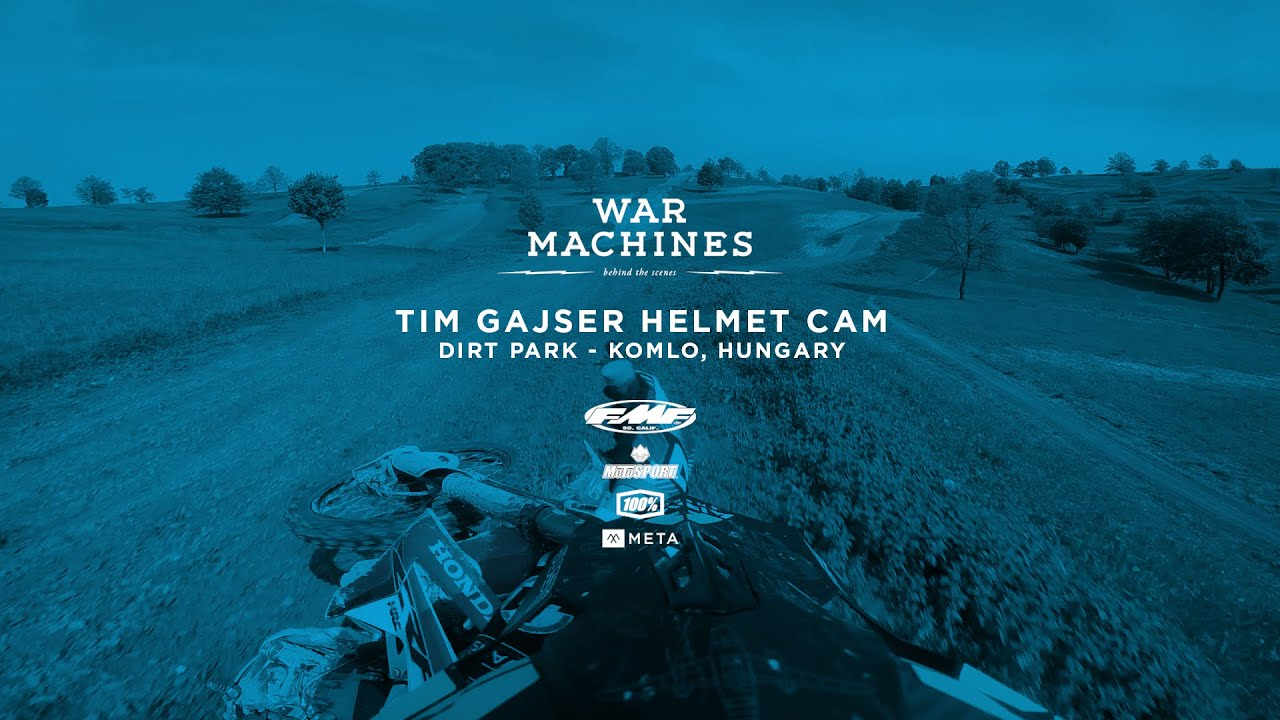 War Machines Motocross War Machines Tim Gajser Dirt