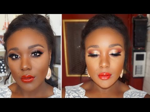 Flawless Drugstore Makeup Tutorial I Summer Makeup Tutorial Dark Skin