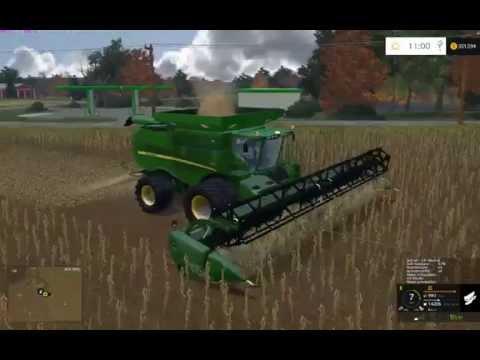 Farming Simulator 2015:  Windchaser Soybean Harvest
