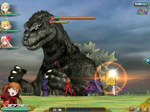 million arthur kai-ri-sei, godzilla, fire power burner boss (worst battle i ever fought)