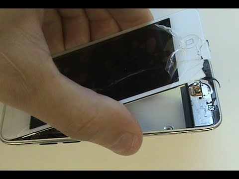 Tutorial: iPod Touch 4th Generation Screen Replacement Repair Glass | GadgetMenders.com