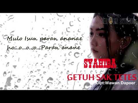 Download Syahiba Saufa - Getuh Sak Tetes   Mp4 baru