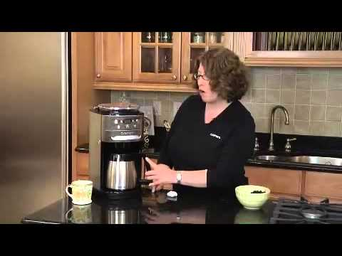 Grind And Brew Coffee Maker Bed Bath And Beyond : Cuisinart Grind & Brew Thermal Automatic Coffee Maker at Bed Bath and Beyond - YouTube