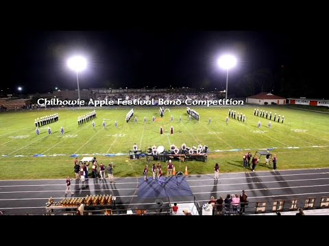 2014 Chilhowie Apple Festival Band Competition - Tennessee High School