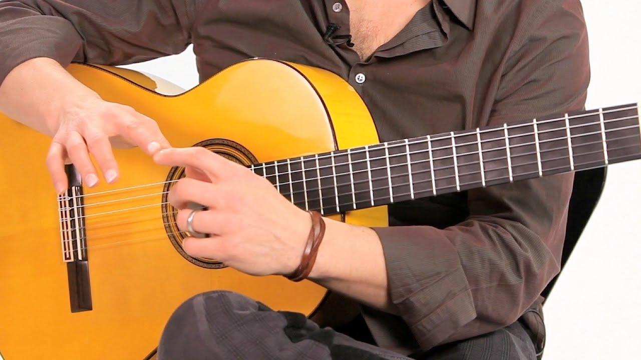 flamenco guitar nails