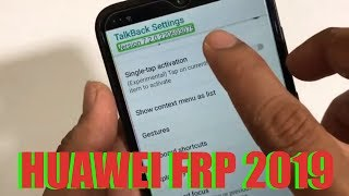 ALL MODELS HUAWEI 2019 FRP BYPASS ANDROID 8/9 WITH MOBILE HOTSPOT ☑️