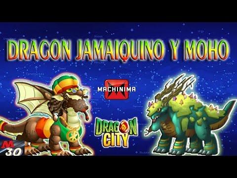 Review Dragones JAMAIQUINO Y MOHO Dragon City 2015