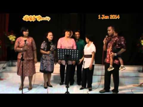 Nyanyi Bareng Pemuda Dewasa HUT GKJ Demakijo