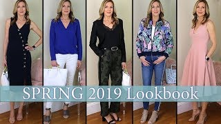 Spring Style Ideas for Women Over 50! 2019 Lookbook/Capsule Wardrobe