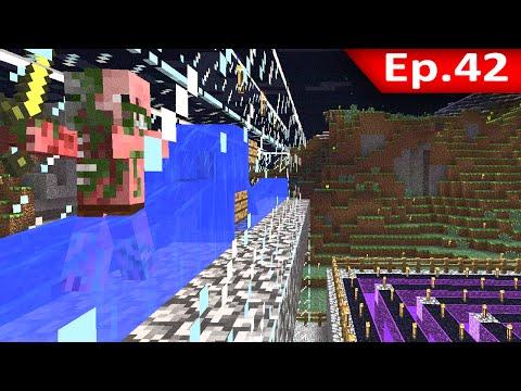 Tackle⁴⁸²⁶ Minecraft 1.7.9 #42 Gold Farm: ออกแบบโรงงาน ฟาร์มทอง