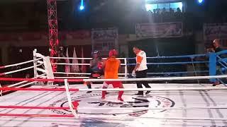 Partai 7 Samsul Bandung Tulungagung Vs Nanda Surabaya  Kejurprov Muay Thai Tulungagung Jatim