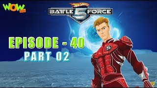 Motu Patlu presents Hot Wheels Battle Force 5 - Stone Cold Warrior - S2 E40.P1 - in Hindi