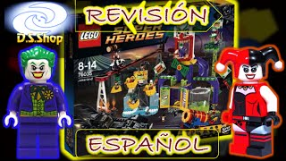 ✅ LEGO Batman JOKERLAND El PARQUE de DIVERSIONES del JOKER Review y Unboxing