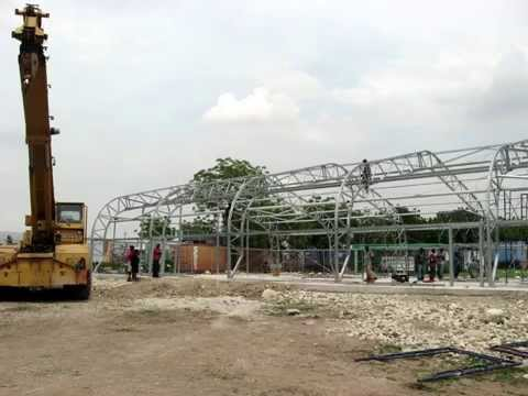 Shelter Structures Haiti Post Office Project