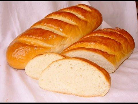 Батон домашний в духовке рецепт. Хлеб рецепт в домашних условиях.