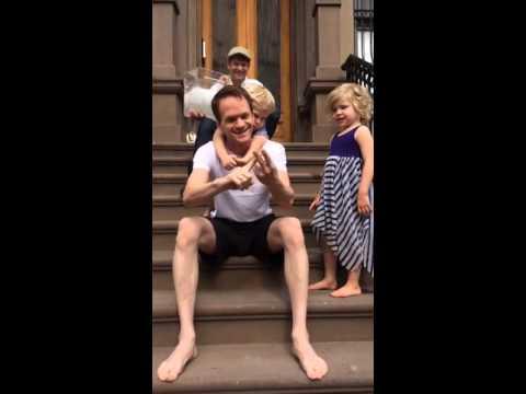 Neil Patrick Harris ALS Ice Bucket Challenge