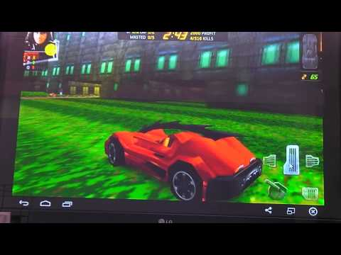 Android on PC AMD APU A8-6600k emulator BlueStacks game Carmageddon