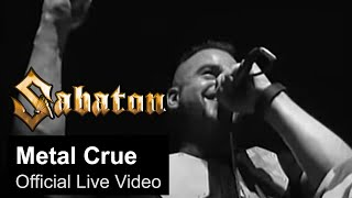 Watch Sabaton Metal Crue video