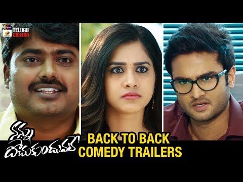 Nannu Dochukunduvate Back To Back COMEDY TRAILERS | Sudheer Babu | Nabha Natesh |Mango Telugu Cinema