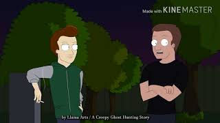 Horror ghost hunting story.