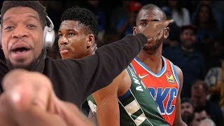 CP3 WHERE YOU AT BABYYY! OKC Thunder vs Milwaukee Bucks, GS Warriors- Full Game Highlights