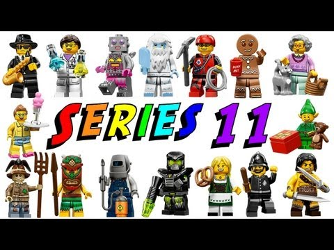 LEGO Series 11 Minifigures 71002 Complete Collection Review