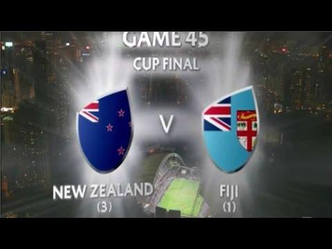 Fiji vs New Zealand Hong Kong 7s 2016 Cup Final