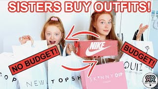 THE SHOPPING CHALLENGE * Sisters Buy Each Other Outfits! | Sis vs Sis | Ruby and Raylee
