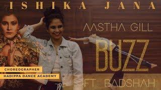 Buzz dance performance by Ishika Jana   Aastha Gill - feat Badshah   HDA