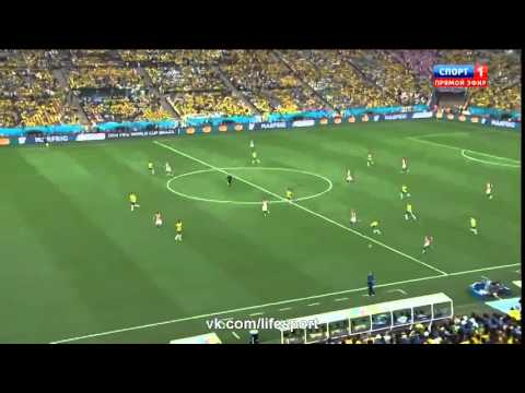 Авто гол Марсело ) Бразилия - Хорватия 1-0