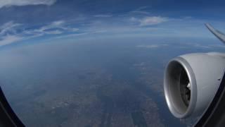 NH110 flying over Manhattan before landing at JFK