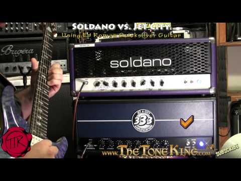 Jet City vs. Soldano - Shoot-Out! ~Using Ed Roman Quicksilver Guitar~