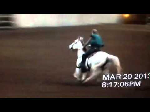 Winnie My Cash Winning 3rd In 1d, Ponoka, March 20th 2013 video