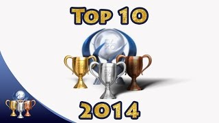 Top 10 Trophies of 2014 on PS4Trophies