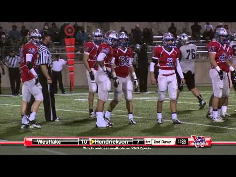 Westlake vs Pflugerville Hendrickson 2012 Playoffs - Full Game