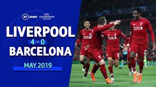Liverpool vs Barcelona (4-0)   UEFA Champions League Highlights