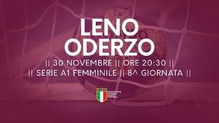 Serie A1F [8^]: Leno - Oderzo 17-33