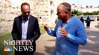 Solving Israeli-Palestinian Conflict Is 'Golden Grail' Of International Politics | NBC Nightly News