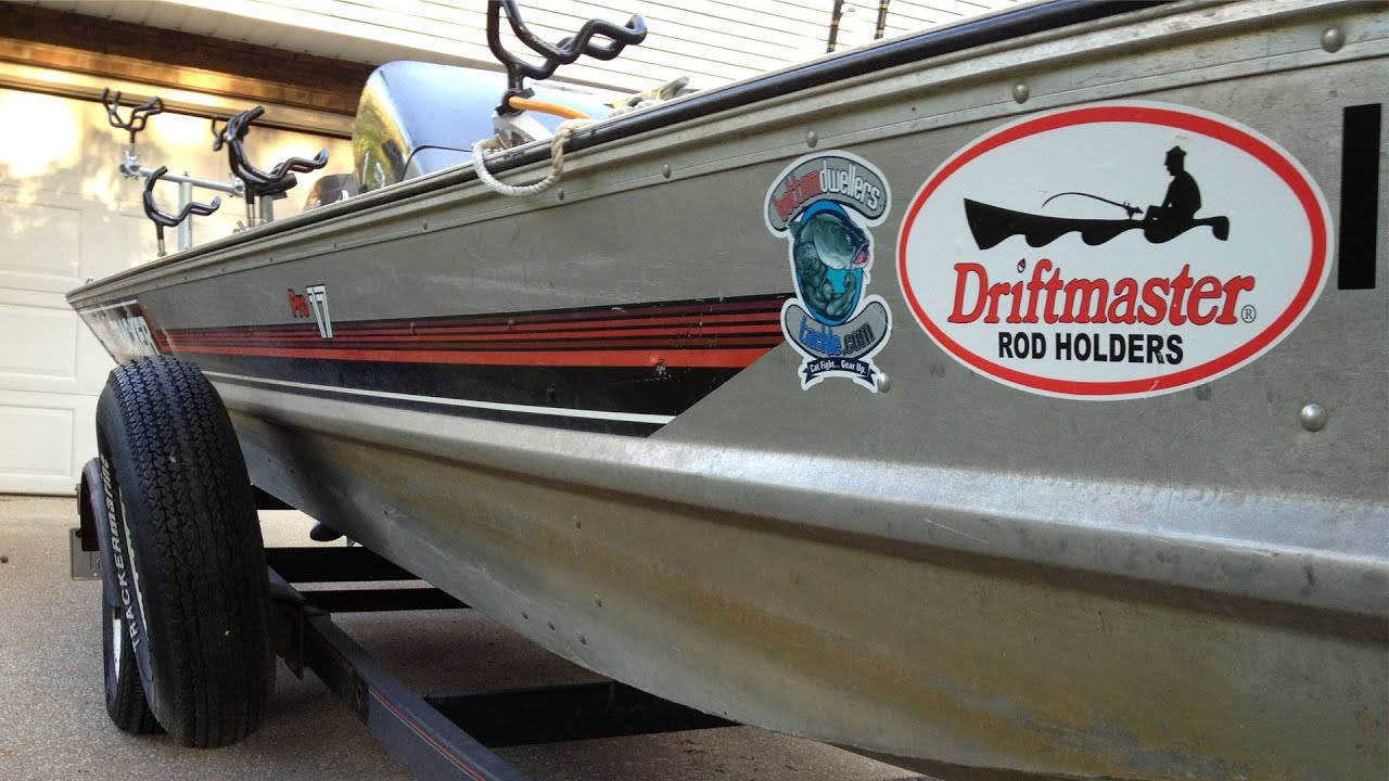 1990 Bass Tracker Pro 17 With 40hp Johnson My Quot Cat