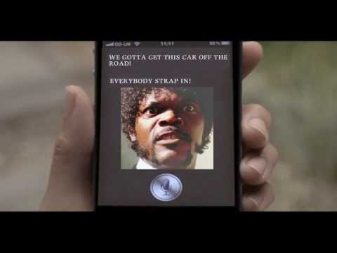 iPhone 4S -Samuel L Jackson replaces Siri.