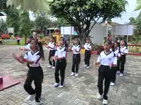 Lomba Senam Seribu Sdn 4 Cepogo Kembang Jepara video