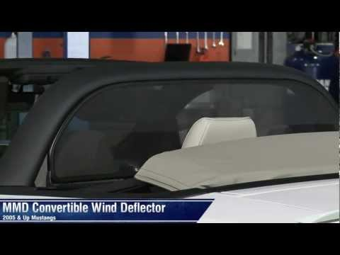 Mustang MMD Convertible Wind Deflector (05-14 All) Review