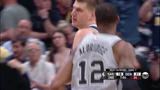 2nd Quarter, One Box Video: Denver Nuggets vs. San Antonio Spurs